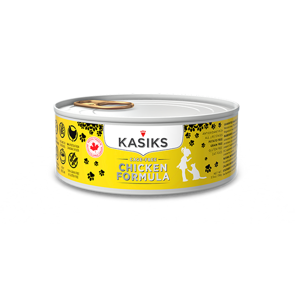 Kasiks Cat GF Cage Free Chicken 24/5.5 oz