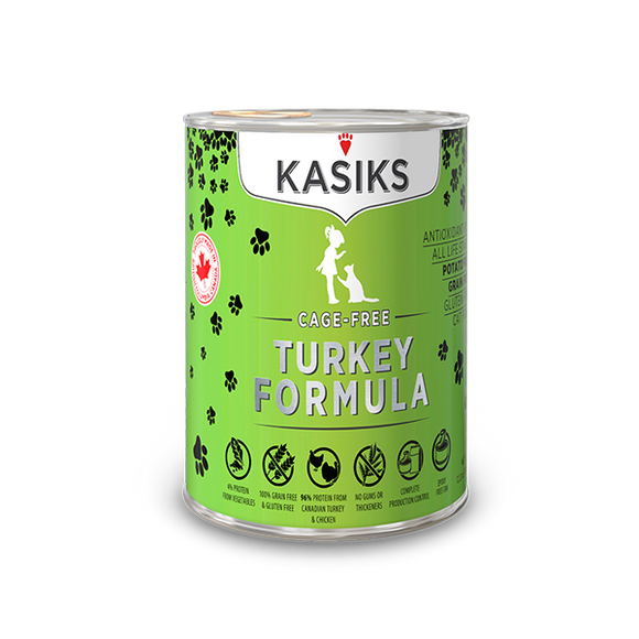 Kasiks Cat GF Cage Free Turkey 12/12.2 oz