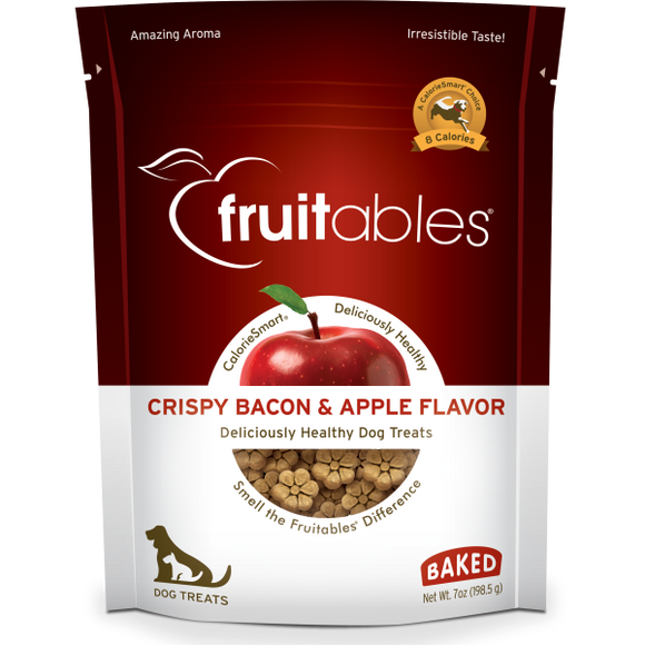 Fruitables Dog Crispy Bacon & Apple Crunchy Treats 198 g