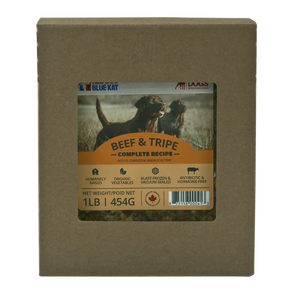 BEEF & TRIPE COMPLETE FOR DOGS 1LB