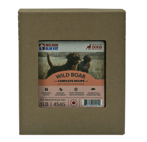 WILD BOAR COMPLETE FOR DOGS 1LB