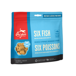 Orijen SIX FISH FREEZE-DRIED DOG TREATS