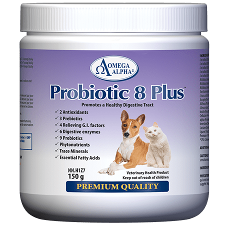 Omega Alpha-Probiotic 8 Plus