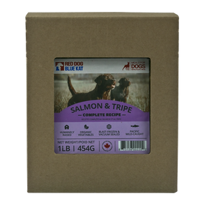 SALMON & TRIPE COMPLETE FOR DOGS 1CASE 6/2LB