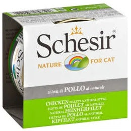 Schesir-Natural Chicken Fillet Canned Cat Food