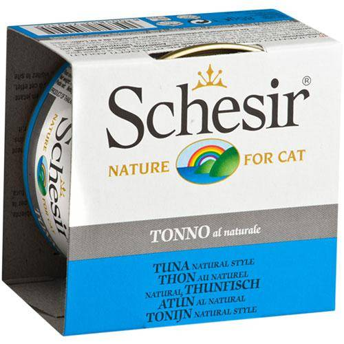 Schesir-Tuna Natural Style Canned Cat Food