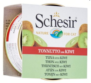 Schesir Tuna with Kiwi Canned Cat Food