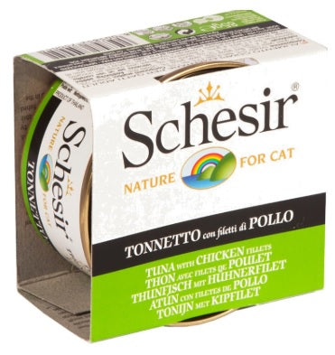 Schesir-Tuna with Chicken fillets Canned Cat Food
