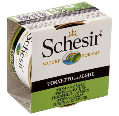 Schesir-Tuna and Seaweed Canned Cat Food