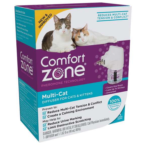 COMFORT ZONE MULTI-CAT DIFFUSER FOR CATS & KITTENS