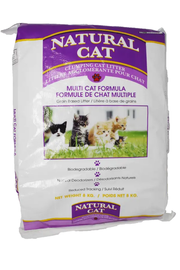 NATURAL CAT LITTER MULTI-CAT 18KG