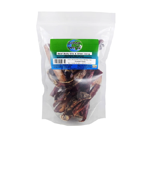 Puppy Love-PW Beef Bully Bits & Bites 300g
