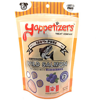 Yappetizers-Salmon & Blueberries 85g