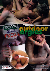 Boys on the Prowl 4: Outdoor Orgy