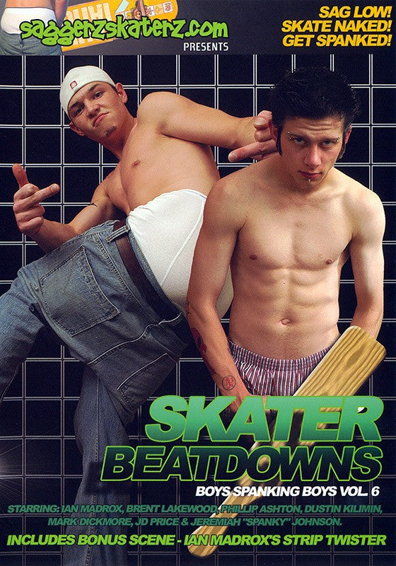 Boys Spanking Boys Vol 6: Skater Beatdowns