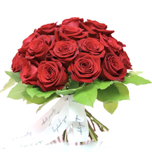 European hand tied rose bouquet (pre order for Valentine's Day)