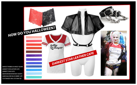 Halloween Costume Inspiration: Look 6 Harley Quinn