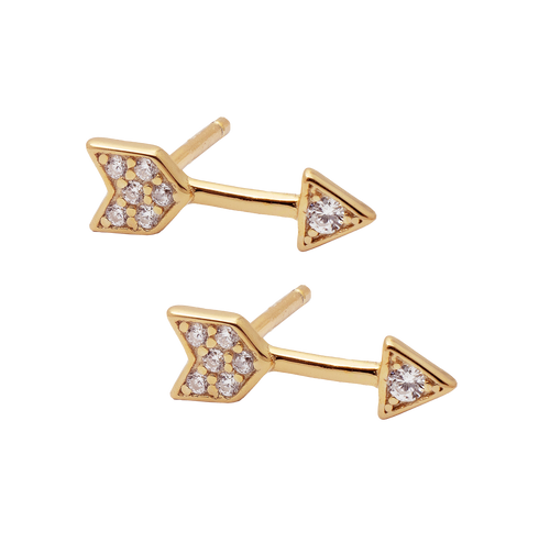 Arrow Zircon Stud SINGLE