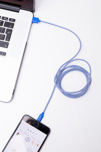Cotton Braided Phone Charging Cord