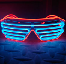 Load image into Gallery viewer, LED Light Up Glasses