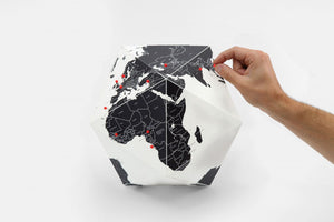 Globe - Here By Countries