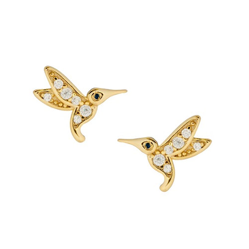 Hummingbird Stud Earrings