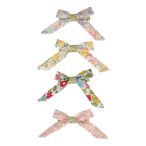 Floral Liberty Print Hair Clips