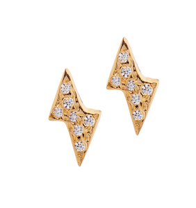 Lightning Zircon Stud Earring SINGLE