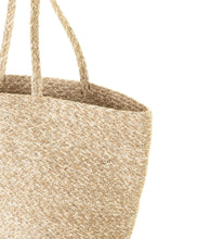 Load image into Gallery viewer, Basket Bag with Silver Fleck