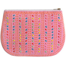 Load image into Gallery viewer, Pink Cord Play Purse Clutch