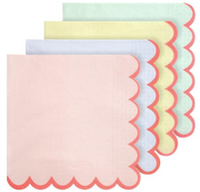 Load image into Gallery viewer, Pastel Neon Edge Large Napkins
