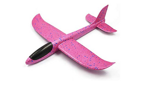 Glider Plane with LED Lights