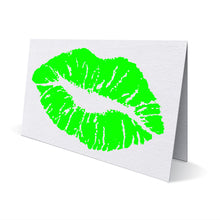 Load image into Gallery viewer, Neon Lips Greeting Card