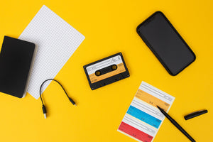 Wireless, Bluetooth, Mix Tape Cassette Speaker