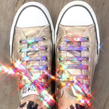 Load image into Gallery viewer, Glitter Shoe Laces