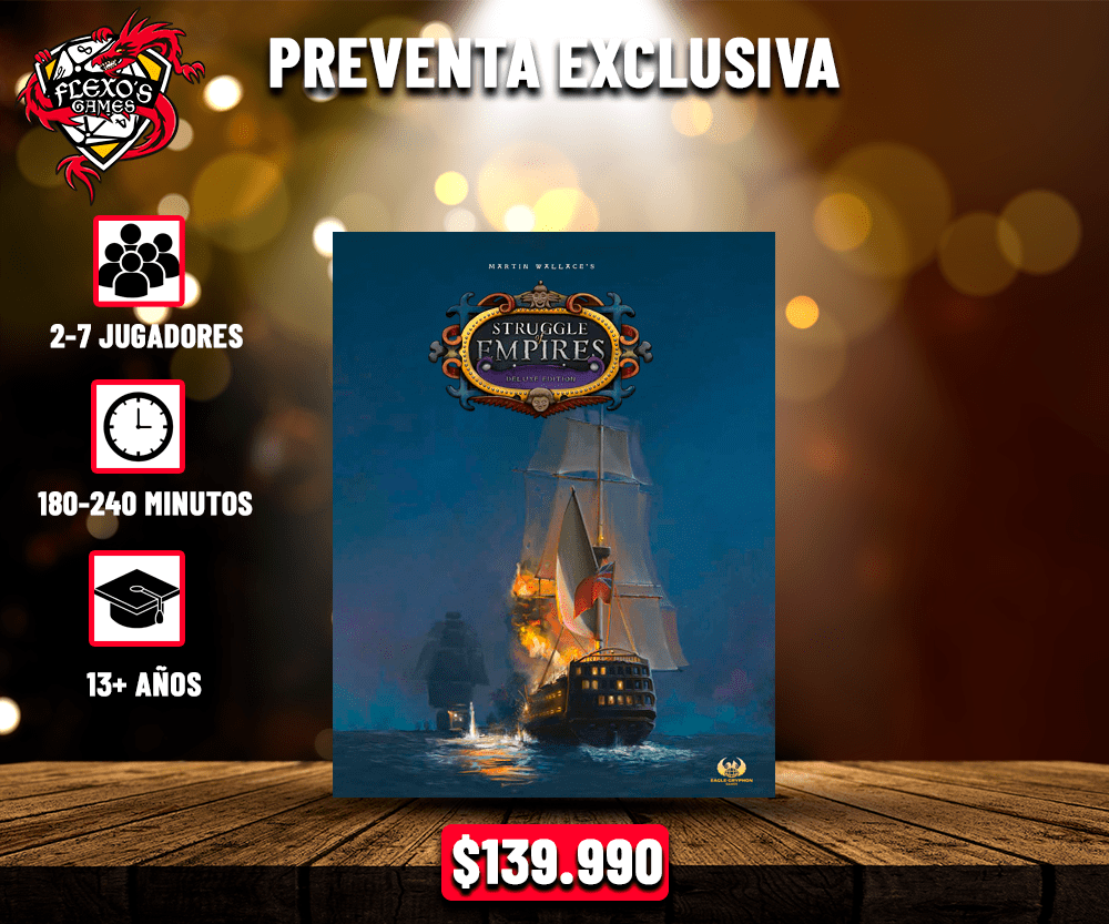 Struggle of Empires Edición Deluxe (Edición KS)