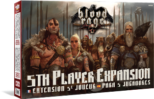 Blood Rage: Expansion para 5 jugadores
