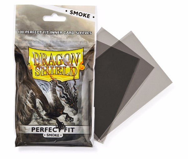 DS: PERFECT FIT Toploaders (100) - Smoke