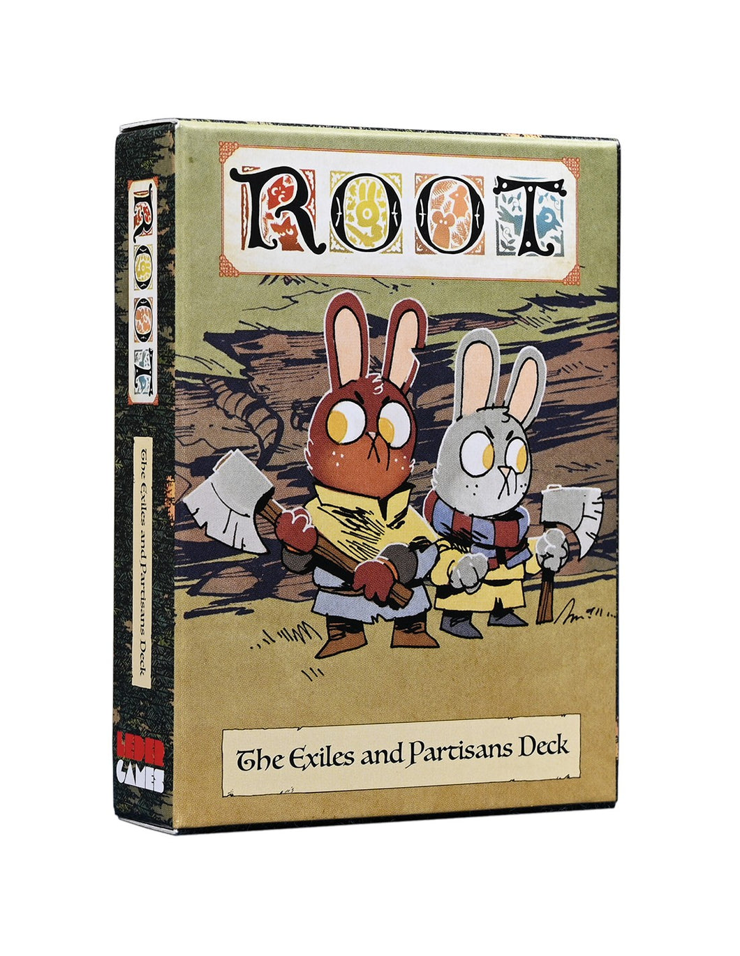 Root: The Exiles and Partisans Deck (Inglés)