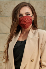Load image into Gallery viewer, Salome - Maske in Rot und Gold