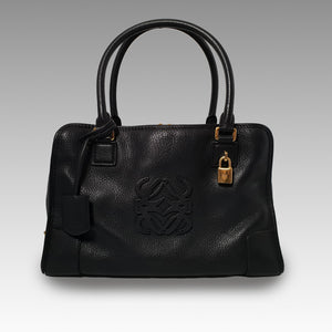 Loewe, Loewe Black Amazona 36 Shoulder with Gold Hardware Bag - CHLOEZACH