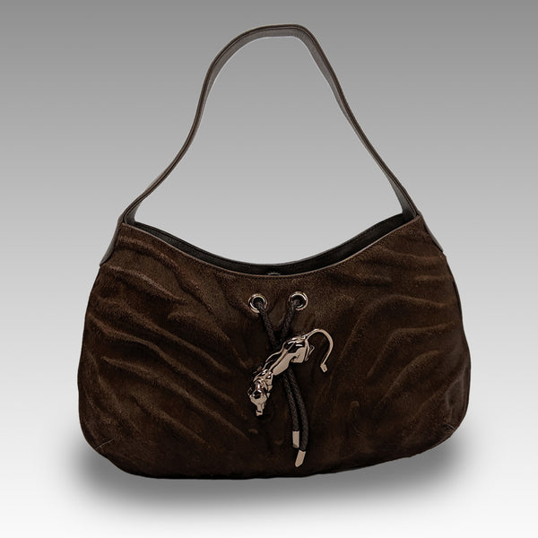 Cartier, Cartier Pony Hair Shoulder Bag - CHLOEZACH