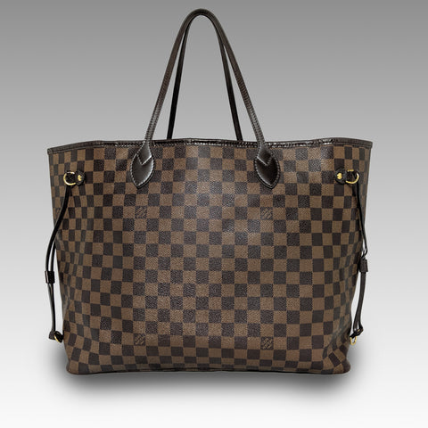 Louis Vuitton, Louis Vuitton Neverfull GM Bag in Damier Ebene - CHLOEZACH