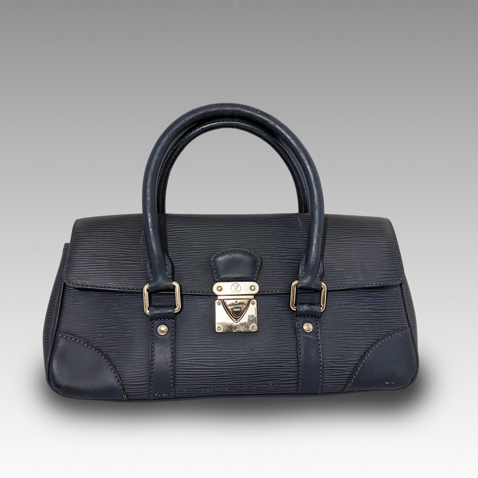 Louis Vuitton, Louis Vuitton Epi Blue Top Handle - CHLOEZACH
