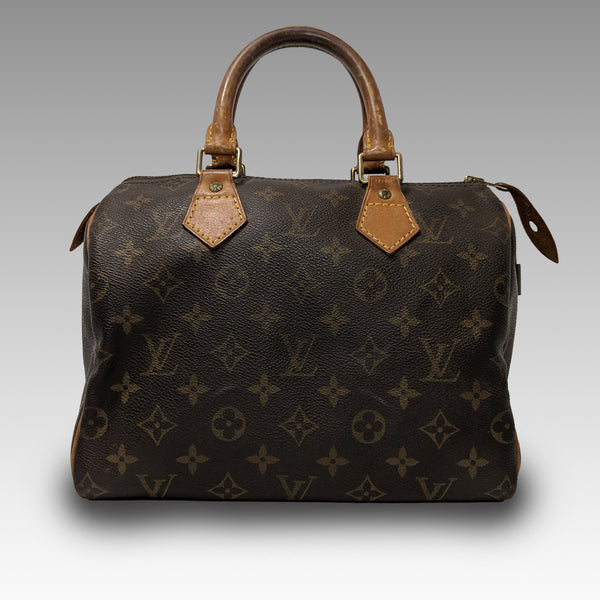 Louis Vuitton, LOUIS VUITTON Monogram Speedy 25 Bag - CHLOEZACH