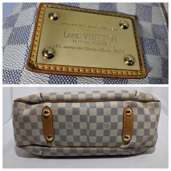 Louis Vuitton, Louis Vuitton Galliera PM Bag in Damier Azur - CHLOEZACH