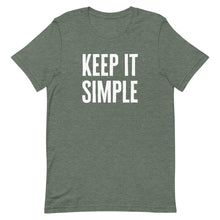 Load image into Gallery viewer, Keep It Simple - Short-Sleeve Unisex T-Shirt