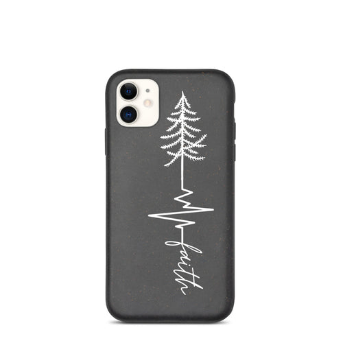 Rooted in Faith - Biodegradable phone case