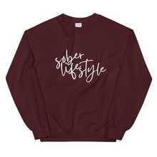Load image into Gallery viewer, Sober Lifestyle - Unisex Sweatshirt