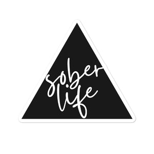 Sober Life - Bubble-free stickers